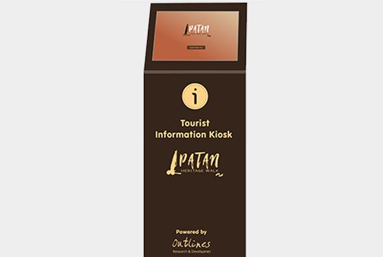 Information Kiosk for Patan Heritage Walk